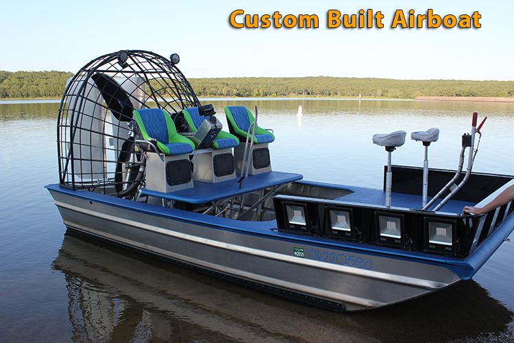 Air boat with polyurea coating